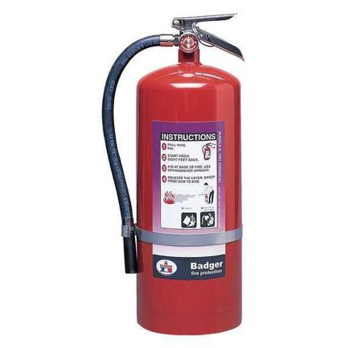 Badger 20 lb. Capacity, Fire Extinguisher, Dry Chemical, B20P