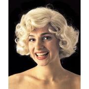Star Power Women Marilyn Monroe Costume Wig, Blonde, One Size