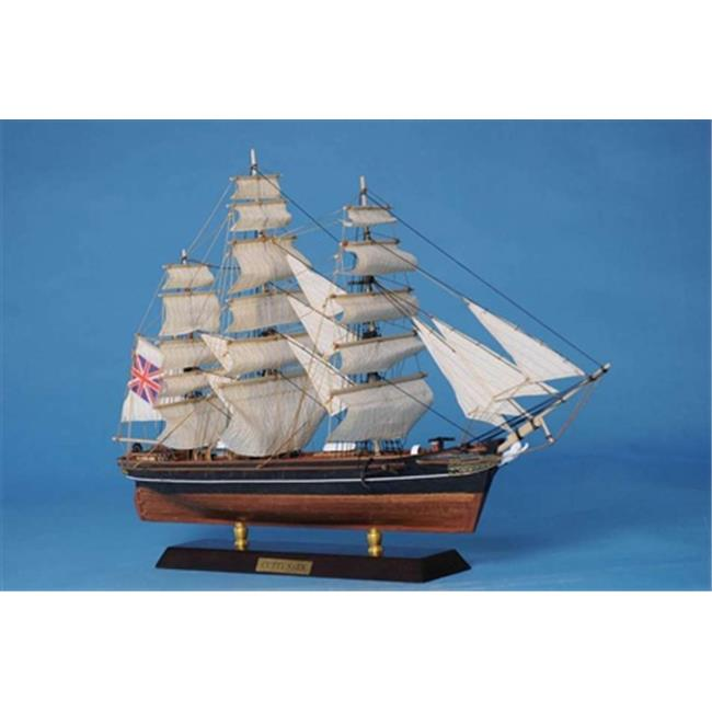 Handcrafted Model Ships Cutty20 Cutty Sark Limited 20 in. Decorative Tall Model Ship by Handcrafted Model Ships