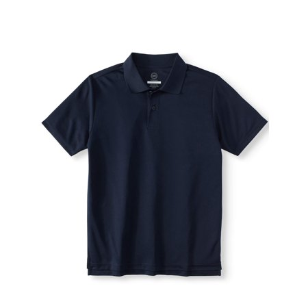Boys School Uniform Short Sleeve Performance Polo - New School Clothes