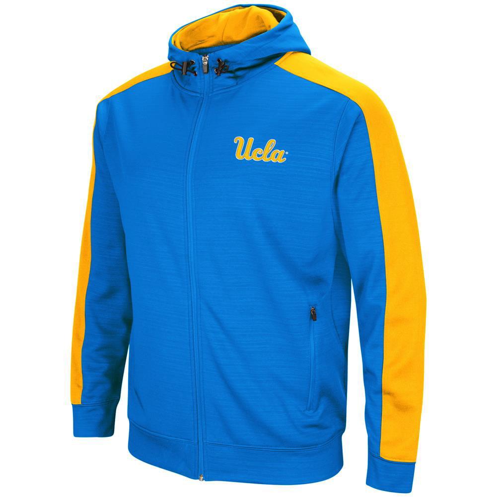 UCLA Bruins Performance Fleece Jacket Full Zip Hoodie