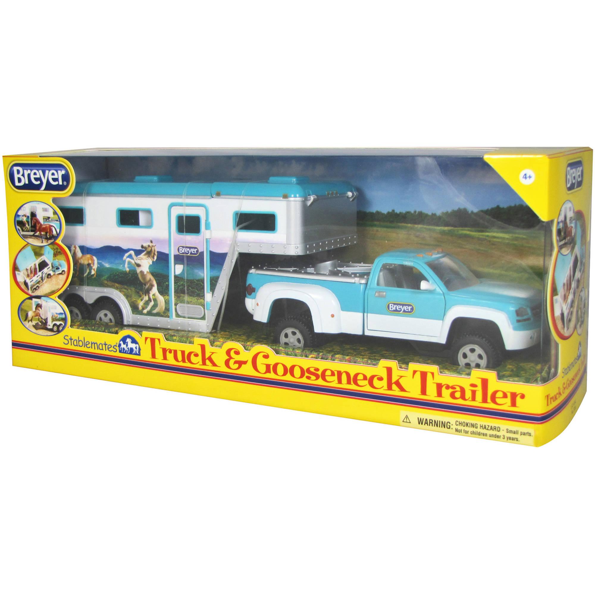 Breyer Stablemates Truck & Gooseneck Horse Trailer by Breyer