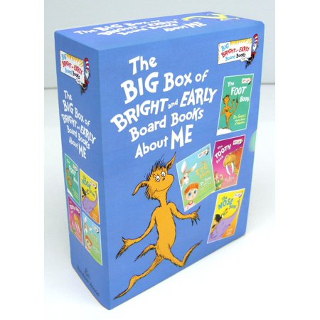 Big Box of Bright and Early Board Books (Board Book) (Big Girls Do It Better Box Set)