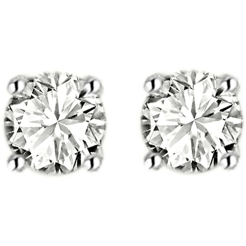 1 Carat T.W. Diamond 14kt Yellow Gold Stud Earrings