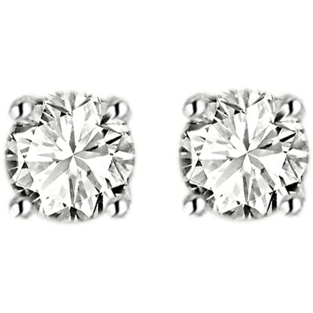 1 Carat T.W. Diamond 14kt Yellow Gold Stud Earrings