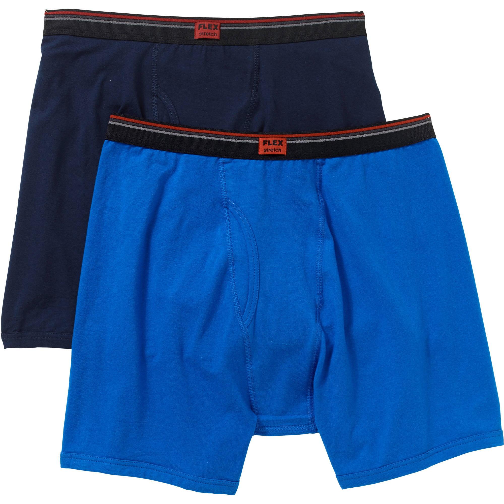 Life by Jockey Men's Long Leg Boxer Briefs, 2-Pack by Generic