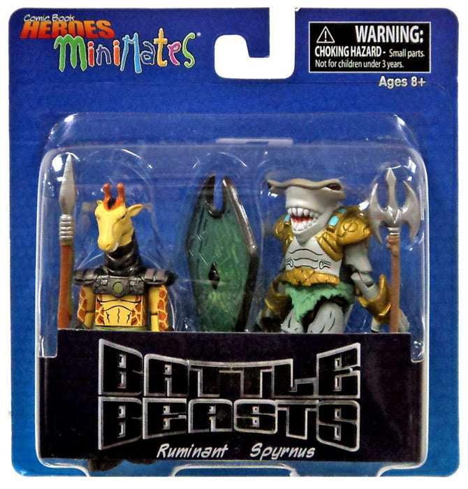 Battle Beasts MiniMates Ruminant & Spyrnus Minifigure 2-Pack