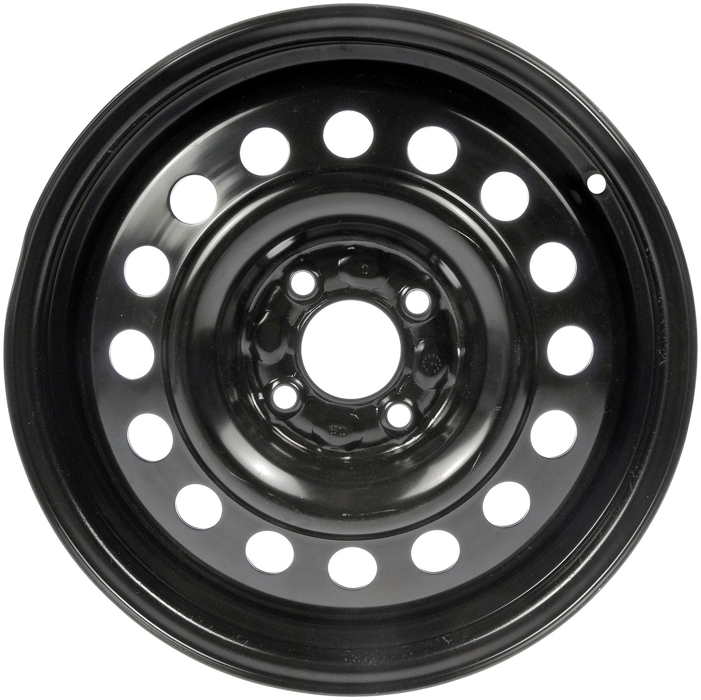 Dorman 939-113 Wheel For Toyota Yaris, Black Finish, New