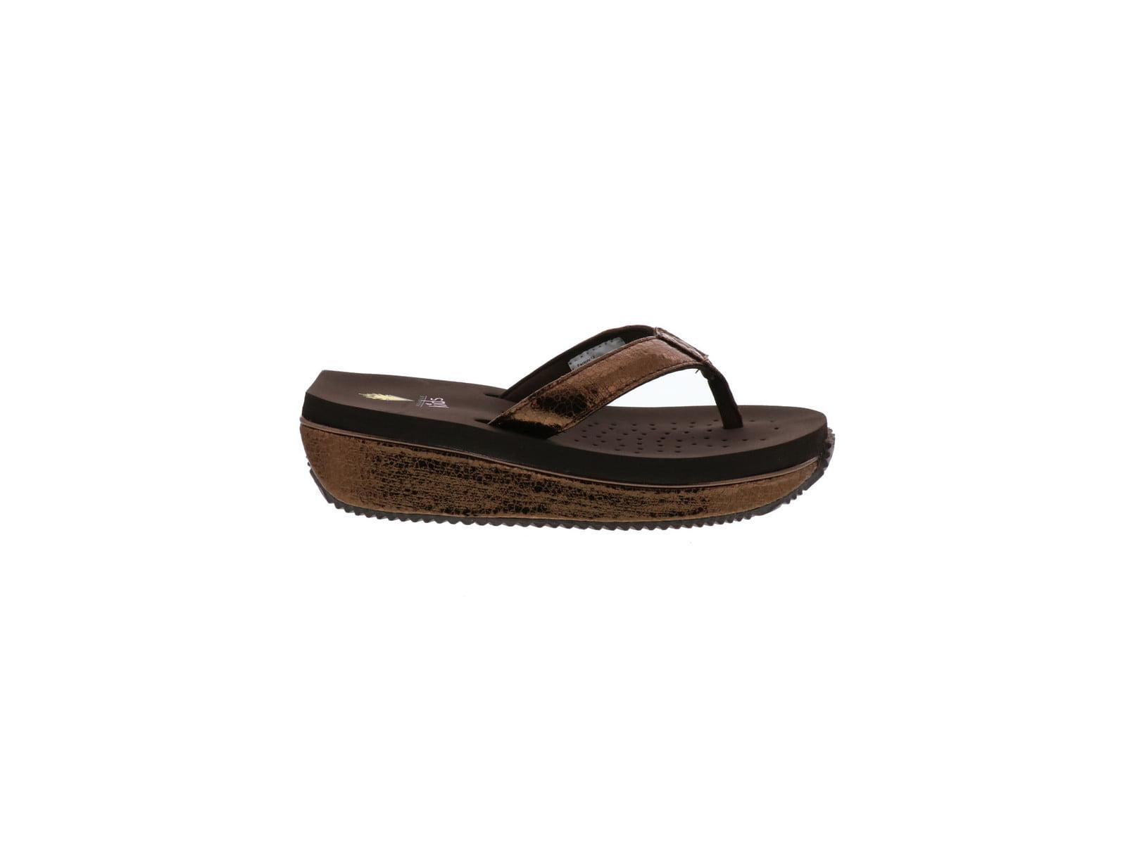 3b206662eb4 Kids Volatile Girls Powderpuff Slip On Wedge Sandals