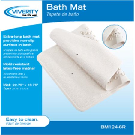 Cur Solutions Bm124 6r Bath Mat With Suction Cups