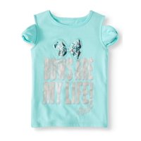3c59171e9 Product Image JoJo Bows are My Life Cold Shoulder Tee (Little Girls & Big  Girls)