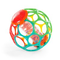 Oball Rollin' Rainstick Rattle Easy-Grasp Toy, Ages 3 months +