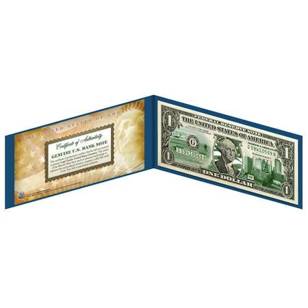 NORTH CAROLINA State $1 Bill *Genuine Legal Tender* US One-Dollar Currency Green