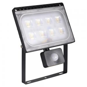 50W LED Flood Light Ultrathin Warm White with PIR Motion Sensor 110V