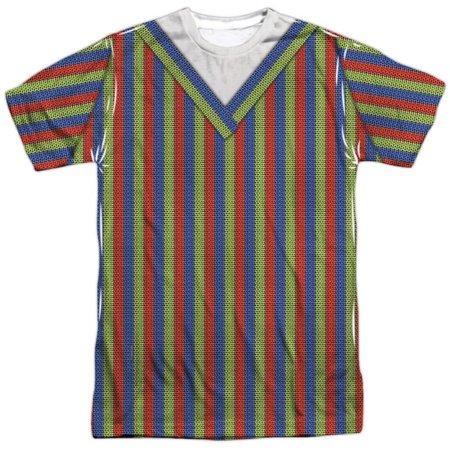 Sesame Street- Bert Costume Tee Apparel T-Shirt - Sublimation - Sesame Street Bert