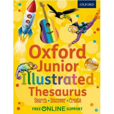 Oxford Junior Illustrated Thesaurus  Paperback