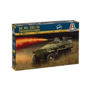 Italeri Models SD.KFZ.251/16 Flammpanzerwagen Kit Multi-Colored