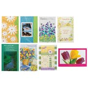 """Miles Kimball Fox Valley Traders Assorted Thinking of You Greeting Cards, Pack of 24 with Envelopes Included – Sizes Vary, Single-fold to About 5"""" x 7.5"""" – Greeting Cards for Sympathy or Best Wishes"""