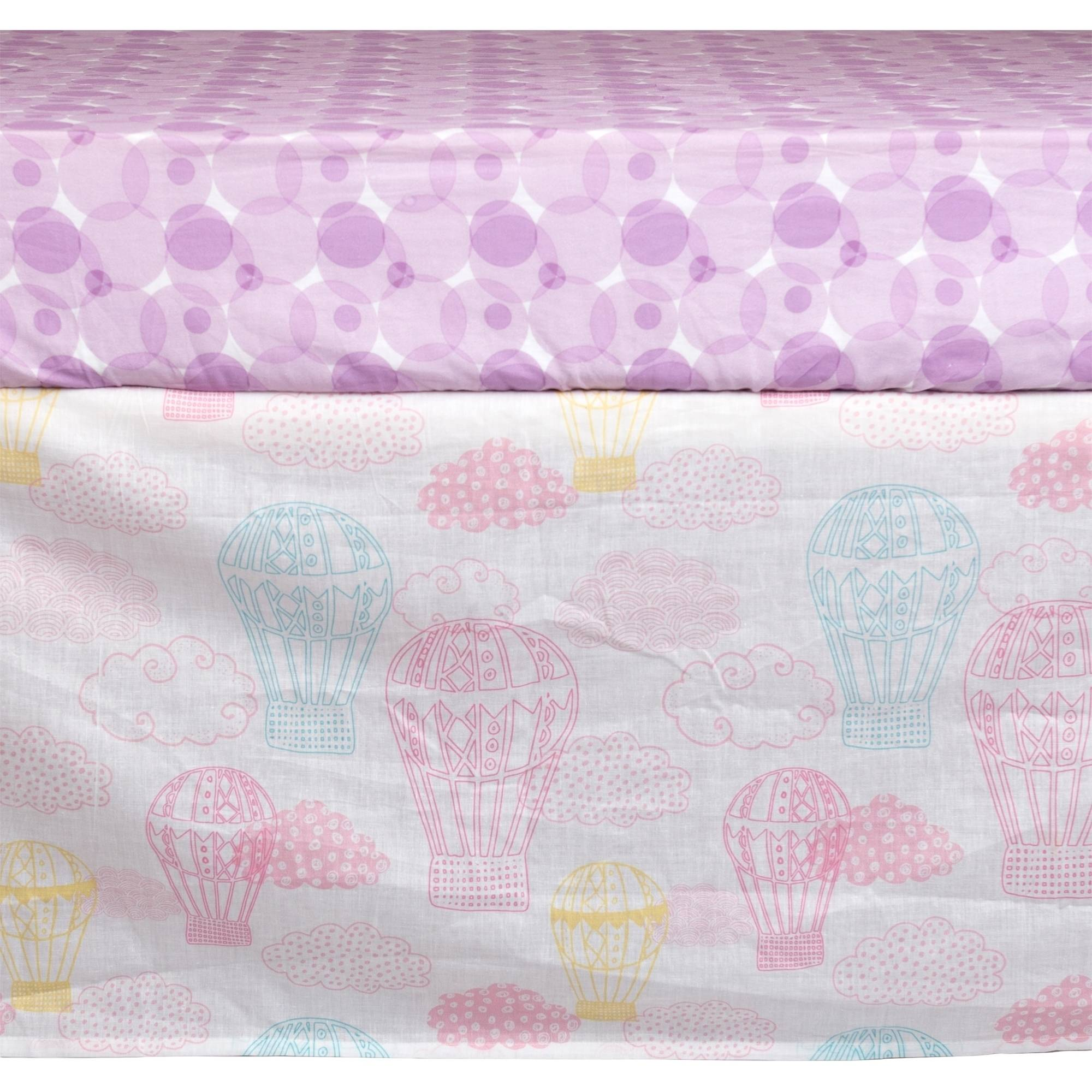 Poppi Living Dreamscape Premium Cotton Crib Skirt