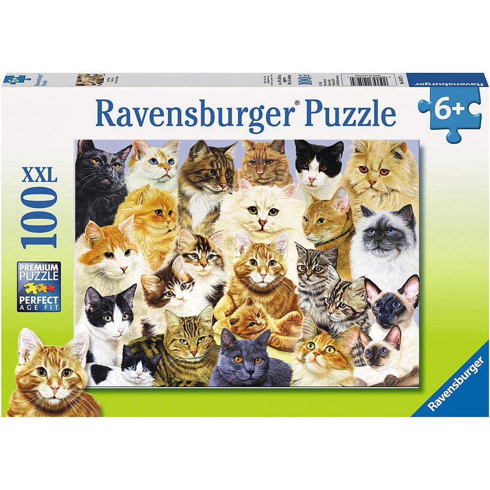 Cat Pride 100 Piece Puzzle