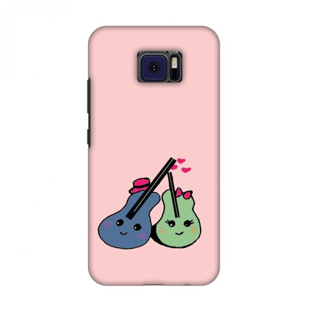 V Cast Music Kit (Asus ZenFone V V520KL Case - Music doodles- Baby pink, Hard Plastic Back Cover, Slim Profile Cute Printed Designer Snap on Case with Screen Cleaning)