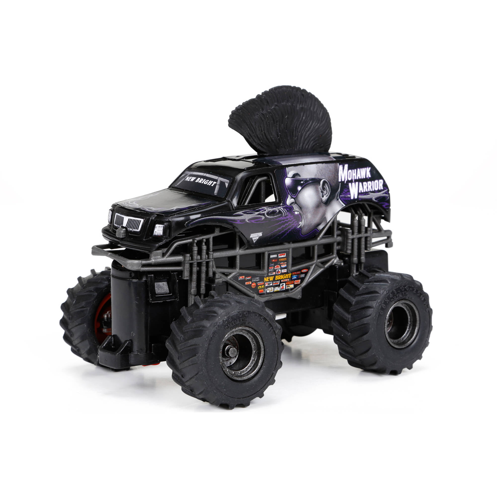 Full Function Monster Jam Mini Mohawk Warrior R C Car Black