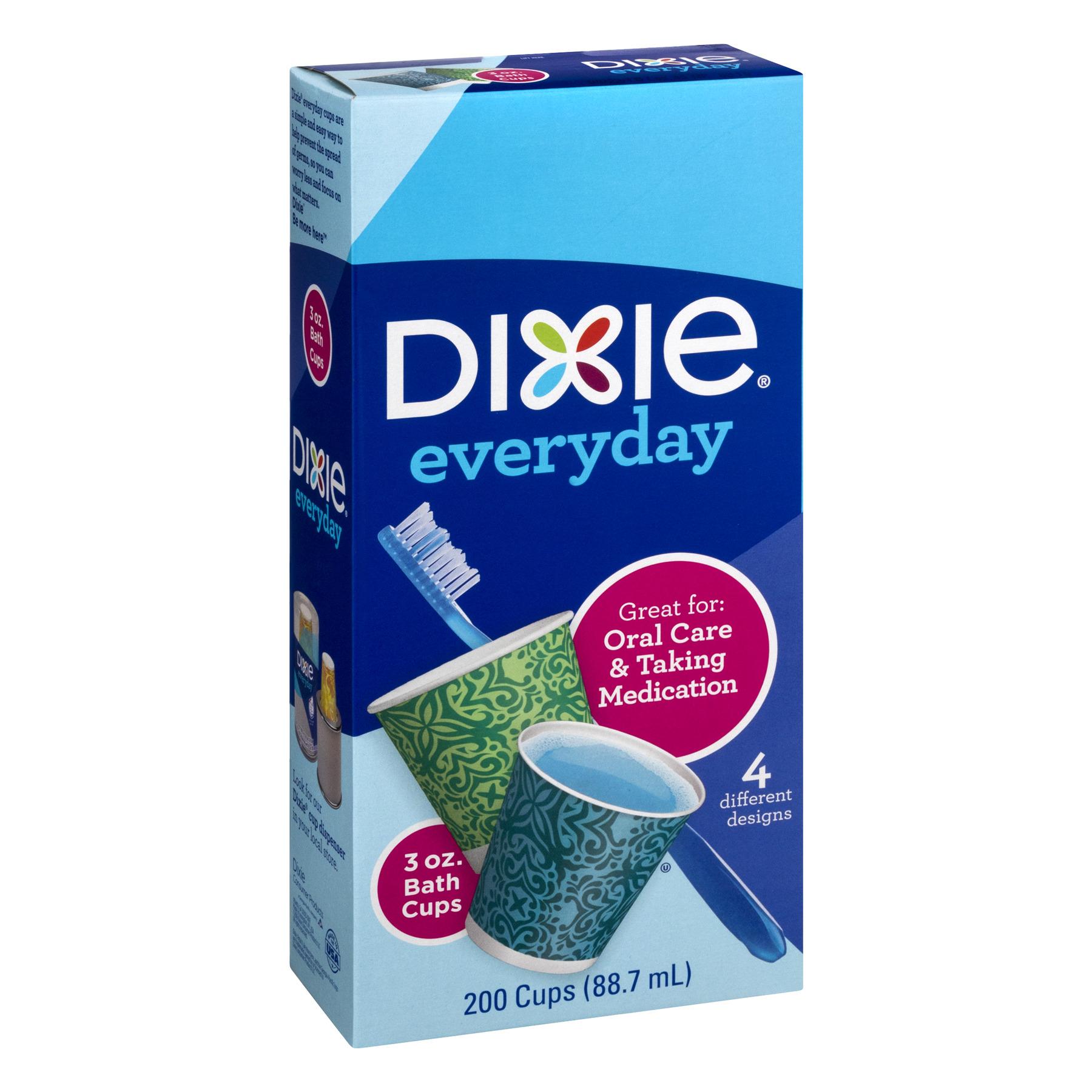 dixie everyday bath cups 3 oz 200 ct walmart