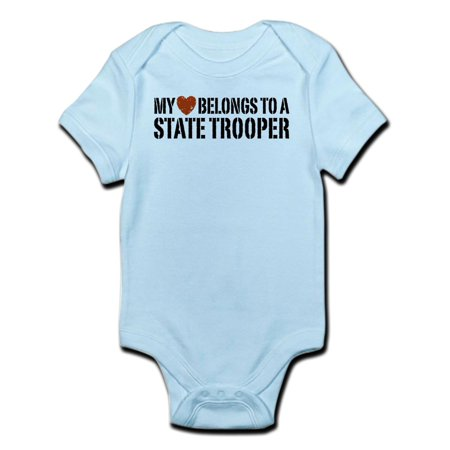 CafePress - State Trooper Infant Bodysuit - Baby Light Bodysuit