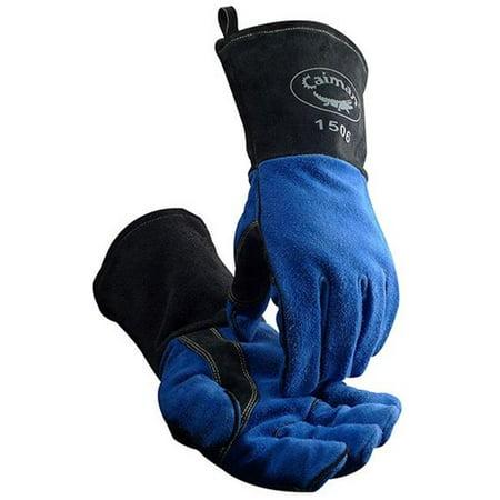 Kevlar Blend Glove (Caiman 607-1508 21 in. Kontour Kevlar Gloves, Blue &)