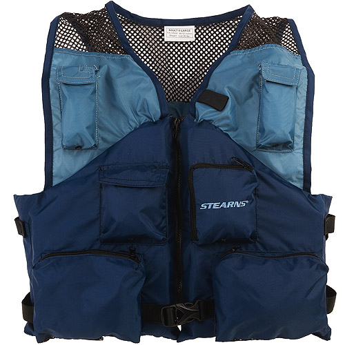 Stearns Deluxe Fishing Vest - Navy