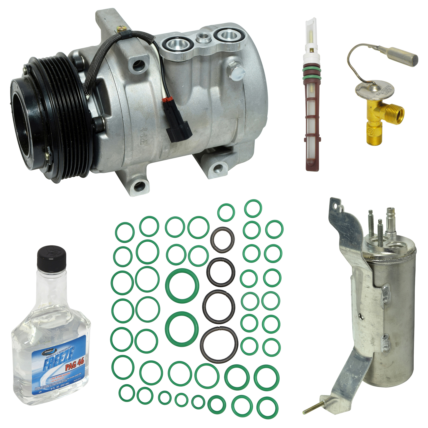 For Ford Explorer Mercury Mountaineer AC A//C Compressor w// Clutch Top Quality