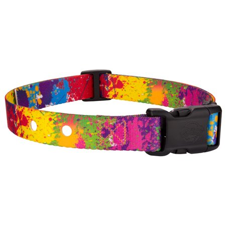 Country Brook Petz | Paint Splatter Replacement Collar For Dog Fence Receivers