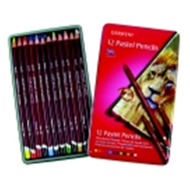 Derwent Non-Toxic Wood Pastel Pencil Set, Set - 36