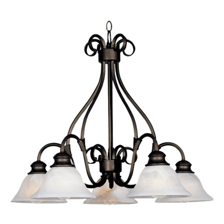 Maxim 2657MR Pacific Down Light Chandelier - 26W in.