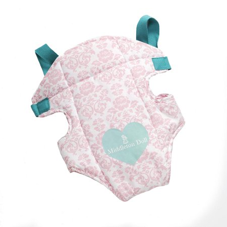 57b9aede69a Madame Alexander Baby Doll Carrier Pink Floral  71770 - Walmart.com
