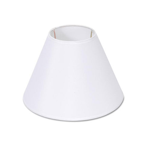 Perfect Lampshade   Small   Plain White   4 X 9 X 6.5 Inches