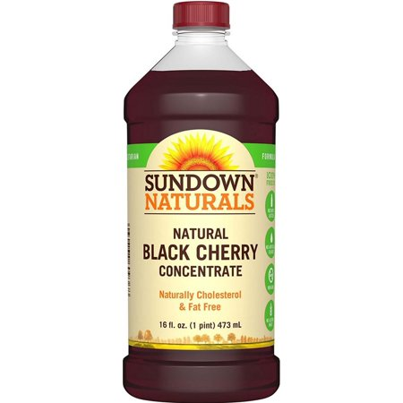 Sundown Naturals Black Cherry Concentrate, 16 fl oz
