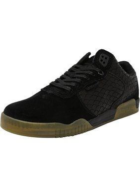 9d105366d71a Product Image Supra Men s Ellington Black   Gum Ankle-High Suede  Skateboarding Shoe - 10M