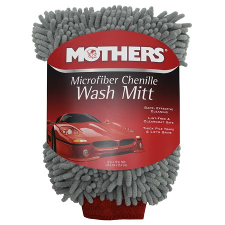 Mothers Premium Chenille Car Wash Mitt