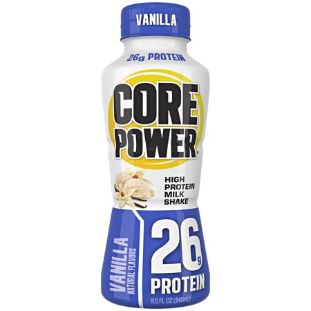 Core Poweru00ae Vanilla High Protein Milk Shake 11.5 fl. oz. Bottle