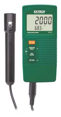 Conductivity Meter, 9V Battery EXTECH EC210 by Extech