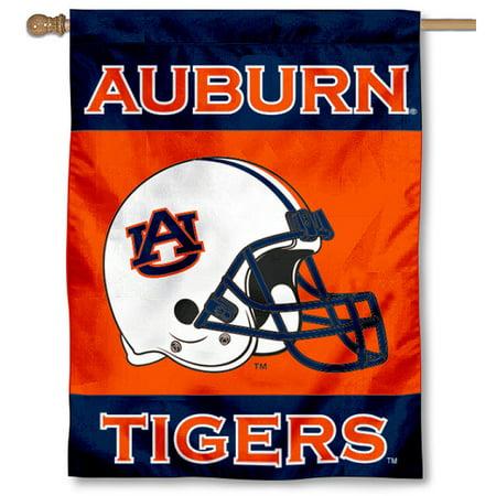 """Auburn Football Helmet 30"""" x 40"""" Double Sided House Flag"""