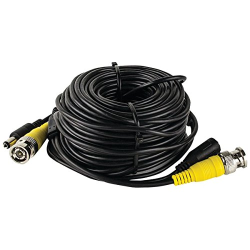 Spyclops 12v Dc Bnc Video Cable - Bnc For Video Device - 131.23 Ft - 1 X Male Power, 1 X Male Video - 1 X Female Power, 1 X Video (spy-40mbncdc)