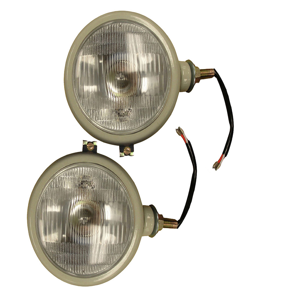 Head Lamp Lights for FORD Tractor 2N 8N 9N 600 800 RH+LH 310066F 12V RED Color