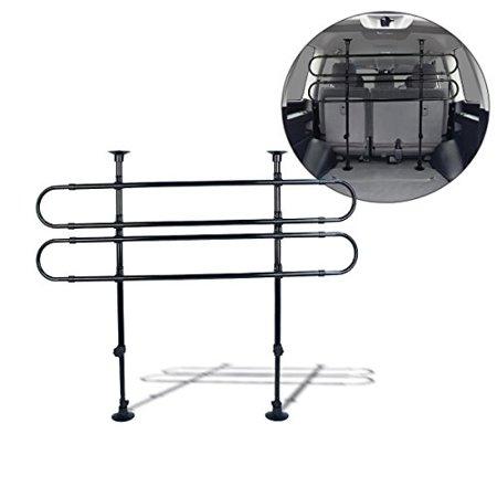 Zento Deals Black Vehicle Pet Barrier Fence (Adjustable 27