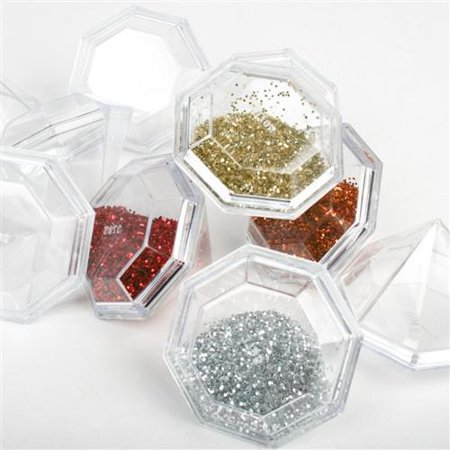 - Clear Plastic Diamond Favor Box, 2-Inch, 12-Piece