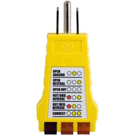 Power Gear 3-Wire Receptacle Tester, 50542999 - Walmart.com