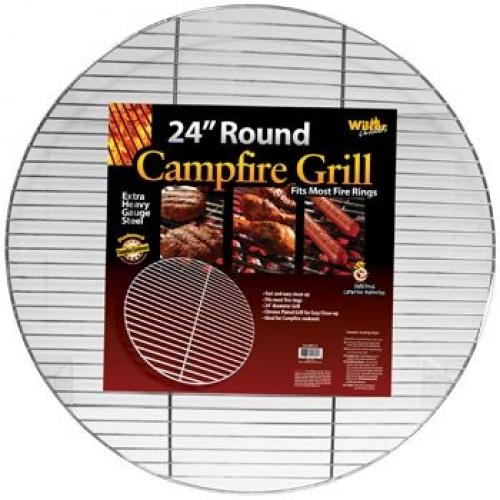 1 X Round Campfire Grill Grid for Fire Rings 24-inch