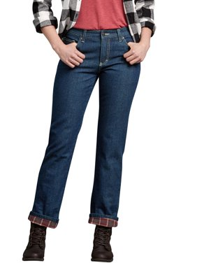 5e6173de Product Image Women's Flannel Lined Jean