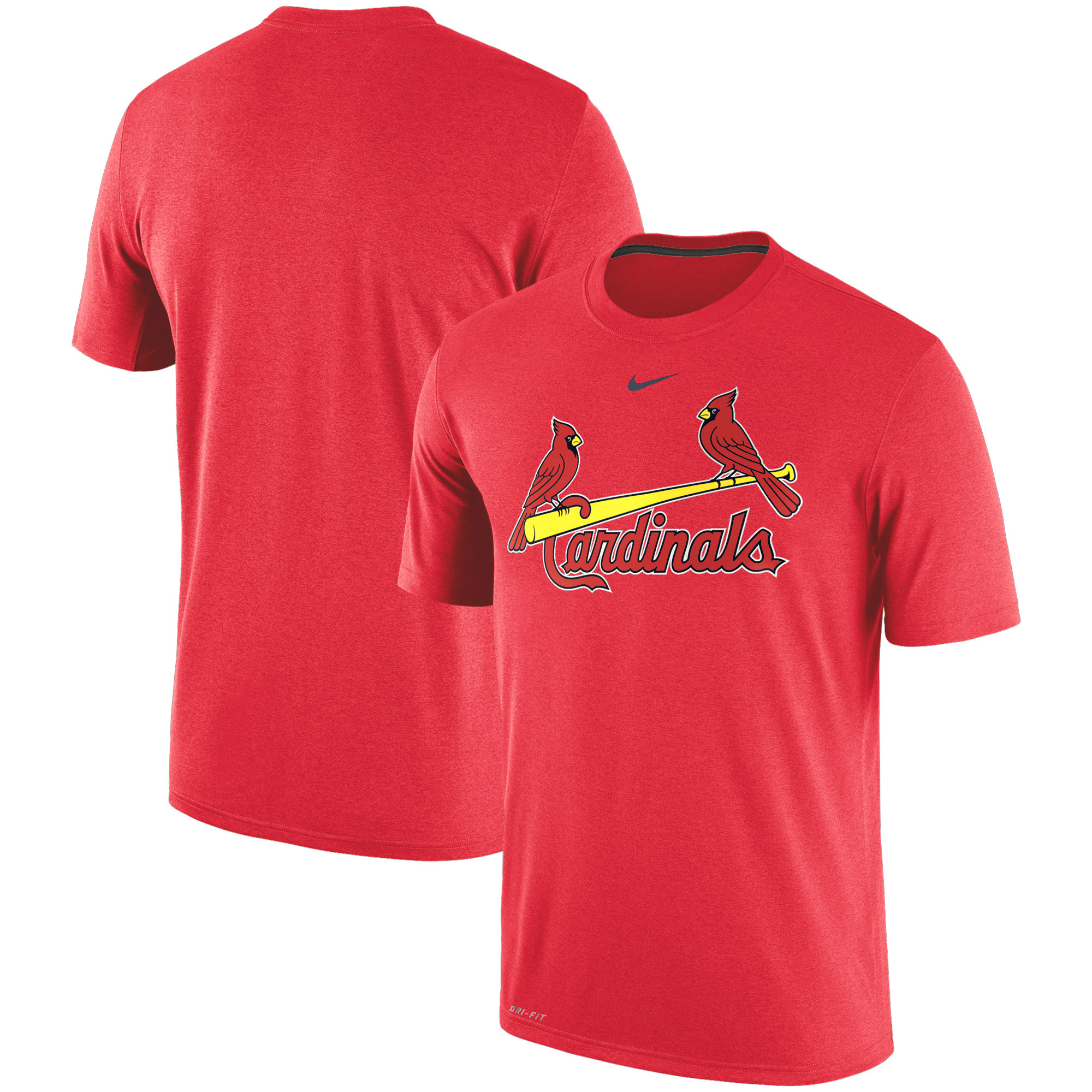 St. Louis Cardinals Nike Legend Primary Logo Performance T-Shirt - Red